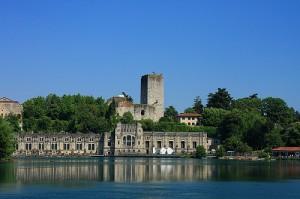 castello e centrale idroel.